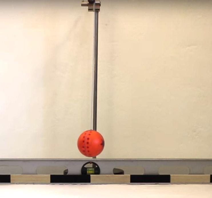 Potenciální tíhová energie a celková energie kyvadla – Videoanalýza