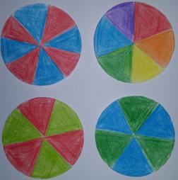 Barevná káča – aditivní mísení barev
