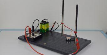 Vodič s proudem v magnetickém poli - koncept