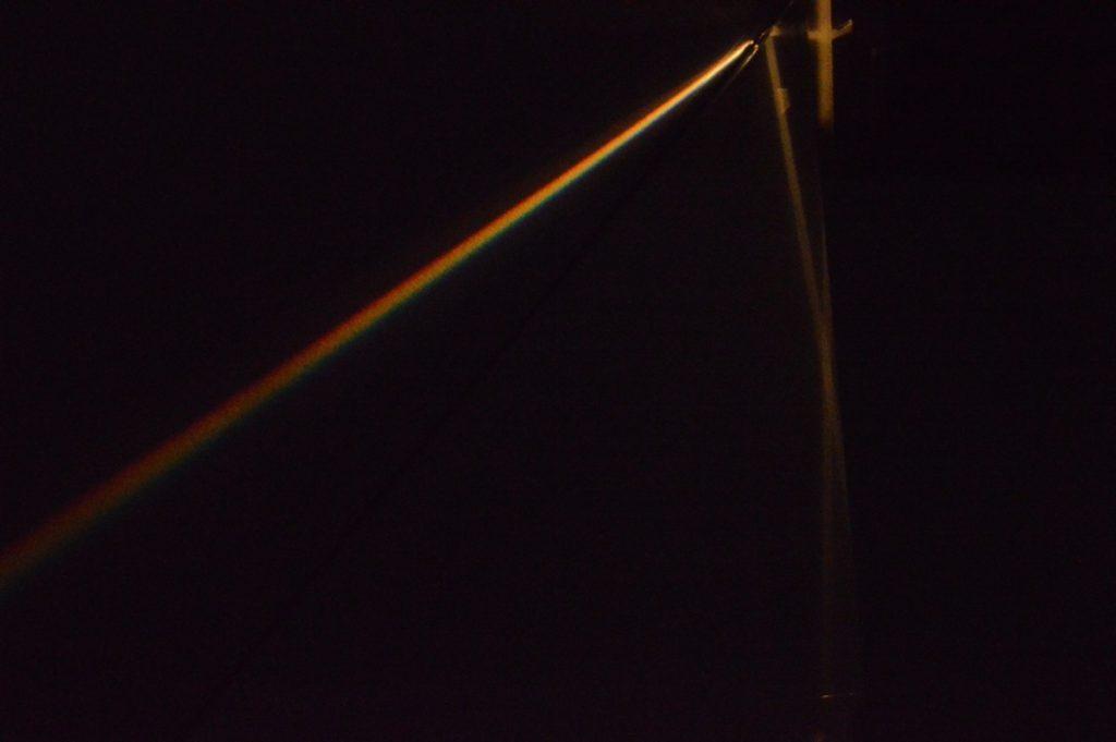 Disperze světla – optický hranol
