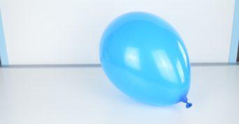 Modrý balónek